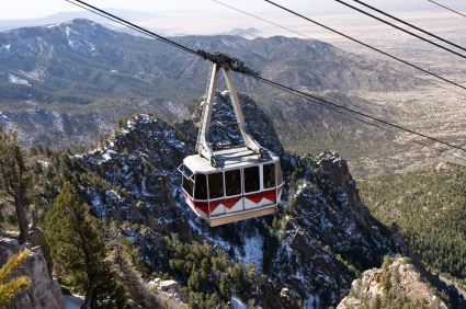 Take the Sandia Tram for an unforgettable view of Albuquerque